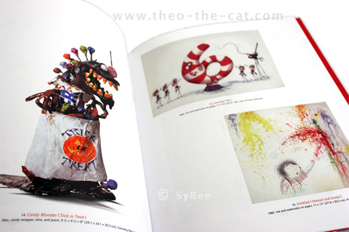 catalogue Tim Burton 2009